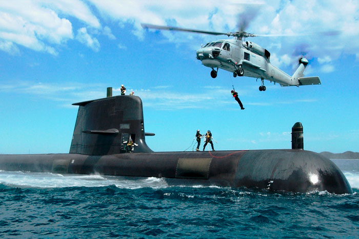 Melbourne defence manufacturer aims to boost jobs for Australia's new submarines.